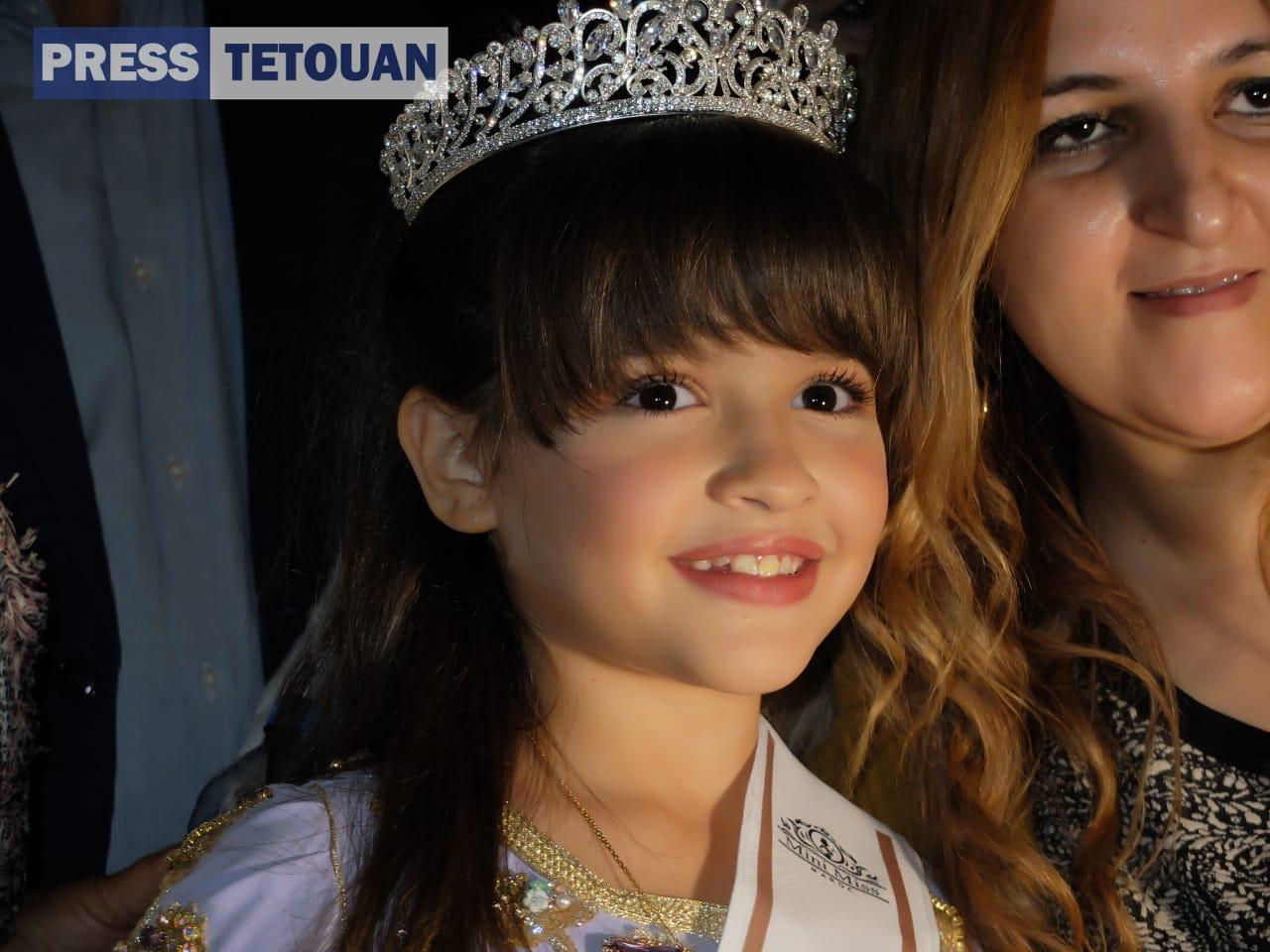 شمالية تفوز بلقب أصغر ملكة جمال المغرب بريس تطوان أخبار تطوان